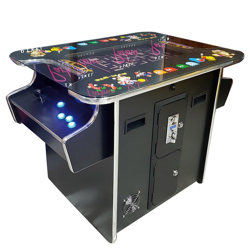 Black Classic Multi Art Table Top Cocktail Arcade