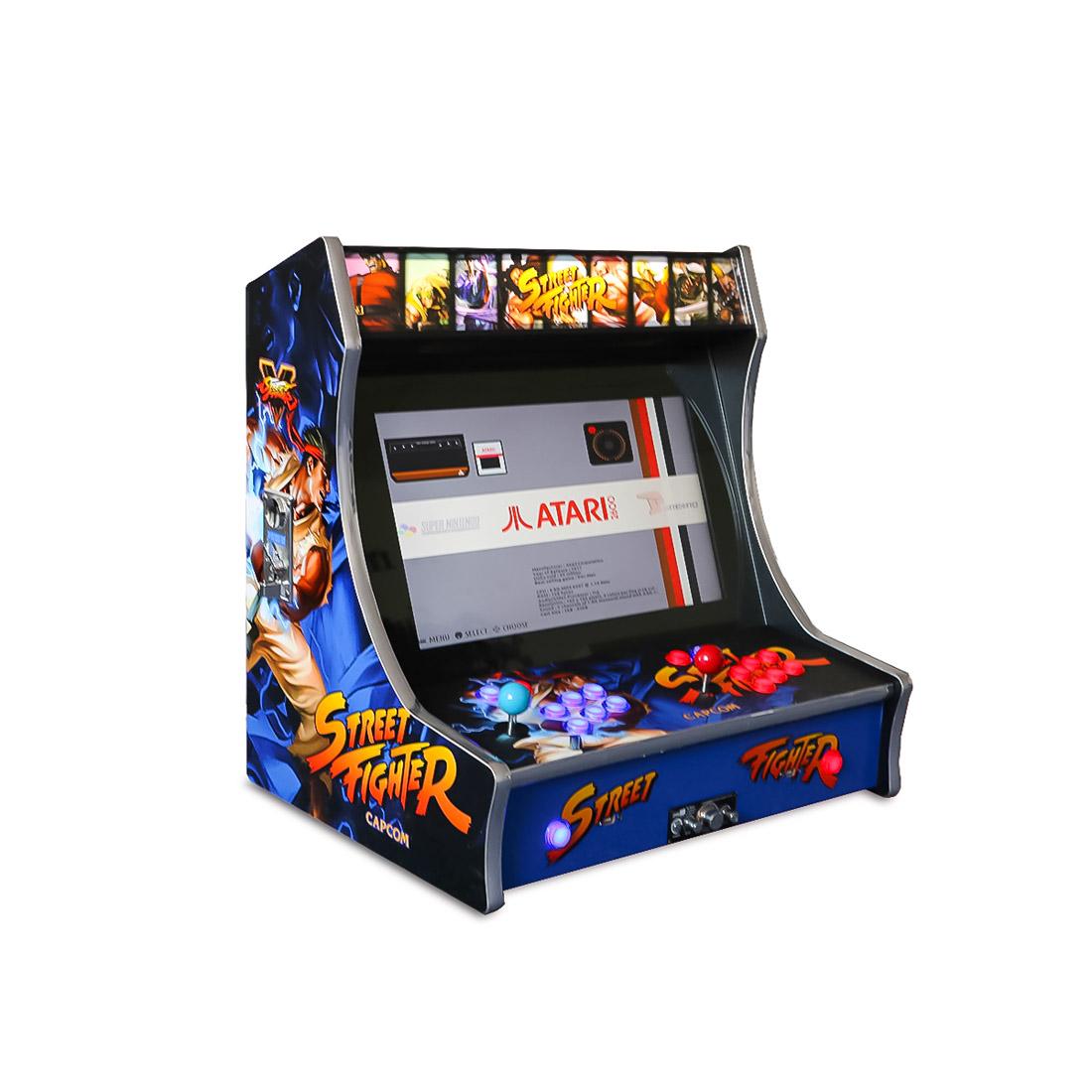 21.5″ Street Fighter Bartop Arcade