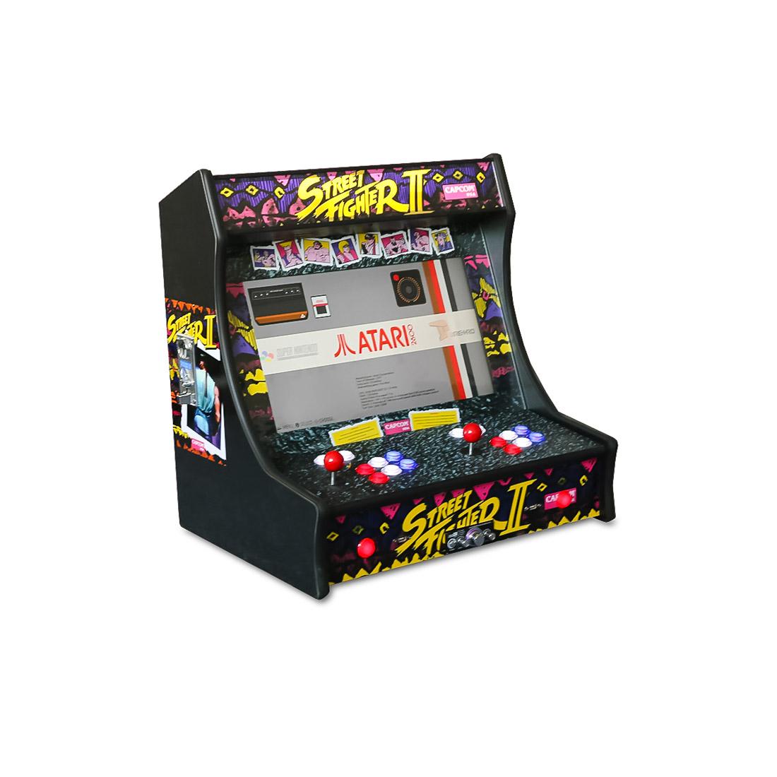 21.5″ Street Fighter 2 Bartop Arcade
